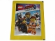 Gear No: botlm001  Name: Sticker, The LEGO Movie 2, Blue Ocean Pack of 5