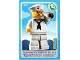 Lot ID: 160461373  Gear No: ctwII127  Name: Create the World Incredible Inventions Trading Card #127 Sailor