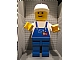 Gear No: displayfig06  Name: Display Figure 7in x 11in x 19in (blue overalls, blue pants, construction helmet)