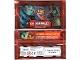 Gear No: njo2depack  Name: Ninjago Trading Card Game (German) Series 2 Card Pack