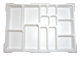 Gear No: 54572  Name: Dacta Storage Bin Upper Tray - 13 Compartment (fits new style storage bins)
