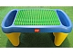 Gear No: 72635c01  Name: Playtable Preschool with Yellow Legs and Affixed Green Duplo Baseplate 16 x 24
