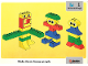 Book No: 9512b01  Name: Set 9512 Activity Card 1 - Arms and Legs UK/AUS Version (4101811)