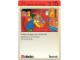 Book No: 9603b72AU  Name: Set 9603 Activity Card Application: Invention 15 - Deliver the Goods AUS version (118122)