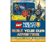 Book No: 9780241283653  Name: Nexo Knights - Build Your Own Adventure (Hardcover)