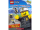 Book No: 9780545280952  Name: City - Escape from LEGO City! (Sticker Storybook)