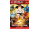 Book No: 9780545362580  Name: Ninjago - Masters of Spinjitzu - Official Guide (without Minifigure)