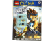Book No: 9780723271239  Name: Legends of Chima - Lions and Eagles - Activity Book (Ladybird version)