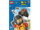 Book No: 9780723291244  Name: LEGO City - On The Move Sticker Activity Book