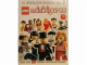 Book No: 9781409338079  Name: Ultimate Sticker Book Minifigures Series  1-2