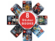 Book No: 9781409377023  Name: 8 Star Wars Ultimate Sticker Books