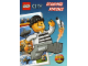 Book No: 9782351006627  Name: Lego City Echappée spatiale - Activity Book