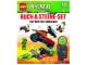 Book No: 9783831020423  Name: LEGO Buch & Steine-Set Ninjago - Die Welt der Schlangen (Hardcover)