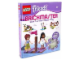 Book No: DKFriendsPL  Name: Brickmaster Friends - Skarb w Heartlake City (Hardcover) - Polish Edition