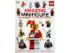 Book No: b13stk05  Name: Amazing Minifigure Ultimate Sticker Book