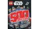 Book No: b16sw02pl  Name: Lego Star Wars - 500 naklejek (Polish Edition)