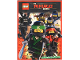 Book No: b17stk02de  Name: Sticker Album, The LEGO Ninjago Movie (German)