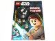 Book No: b18sw05pl  Name: Lego Star Wars - Gwiezdne rozgrywki - Activity Book (Polish Edition)