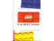 Book No: b98dls  Name: Die Lego Story - Der Stein der Weisen by Margret Uhle (Hardcover)