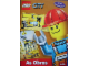 Book No: lcs2pt  Name: Lego City As Obras - Activity Book with Stickers