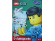 Book No: lcs4pt  Name: Lego City O Aeroporto - Activity Book with Stickers