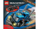 Book No: lr2  Name: Lego Racers Racing Track - Activity Book with Stickers