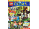 Book No: mag2014chi06pl  Name: Lego Magazine Legends of Chima 2014 Issue 6 (Polish)