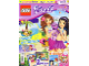 Book No: mag2015frnd08pl  Name: Lego Magazine Friends 2015 Issue 8 (Polish)