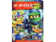 Book No: mag2015njo06pl  Name: Lego Magazine Ninjago 2015 Issue 6 (Polish)