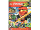 Book No: mag2015njo08de  Name: Lego Magazine Ninjago 2015 Issue 8 (German)