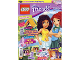 Book No: mag2016frnd06pl  Name: Lego Magazine Friends 2016 Issue 6 (Polish)