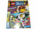 Book No: mag2016nex04pl  Name: Lego Magazine Nexo Knights 2016 Issue 4 (Polish)