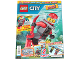 Book No: mag2017cty03pl  Name: Lego Magazine City (Polish) 2017 Issue 3