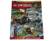 Book No: mag2017njo10pl  Name: Lego Magazine Ninjago 2017 Issue 10 (Polish)