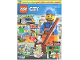 Book No: mag2018cty09de  Name: Lego Magazine City 2018 Issue 9 (German)