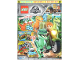 Book No: mag2018jw01de  Name: Lego Magazine Jurassic World (German) 2018 Issue 1