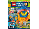 Book No: mag2018nex01nl  Name: LEGO Magazine Nexo Knights 2018 Issue 1 (Dutch)