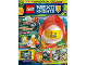 Book No: mag2018nex05nl  Name: LEGO Magazine Nexo Knights 2018 Issue 5 (Dutch)