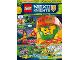 Book No: mag2018nex08nl  Name: LEGO Magazine Nexo Knights 2018 Issue 8 (Dutch)