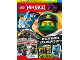 Book No: mag2018njo01nl  Name: LEGO Magazine Ninjago 2018 Issue 1 (Dutch)