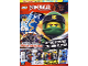 Book No: mag2018njo01pl  Name: Lego Magazine Ninjago 2018 Issue 1 (Polish)