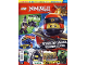 Book No: mag2018njo08pl  Name: Lego Magazine Ninjago 2018 Issue 8 (Polish)