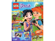 Book No: mag2019frnd04pl  Name: Lego Magazine Friends 2019 Issue 4 (Polish)