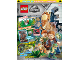 Book No: mag2019jw01nl  Name: Lego Magazine Jurassic World 2019 Issue 1 (Dutch)