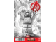 Book No: mc2a  Name: Super Heroes Comic Book, Marvel, Avengers #21 Sketch Variant Cover