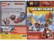 Catalog No: c11cars1  Name: 2011 Insert - LEGO Cars 2 - 'Doe mee en win!' (contest Kruidvat) (600_3630)