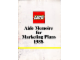 Catalog No: c88ukdc2  Name: 1988 Dealer Large UK - Aide Memoire for Marketing Plans