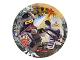 Gear No: 013051773427  Name: Food - Party Plates The LEGO Ninjago Movie 18cm (8 pcs)