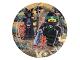 Gear No: 013051773434  Name: Food - Party Plates The LEGO Ninjago Movie 23cm (8 pcs)