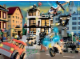 Gear No: 091577  Name: Ravensburger, City Police in Town Puzzle (includes minifigure and LEGO elements)